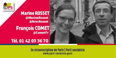 Présentation de Marine ROSSET et de François COMET