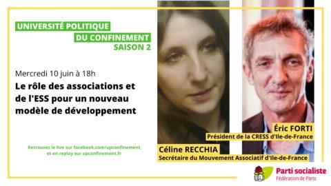Université du confinement S02E12 avec Céline Recchia et Eric Forti