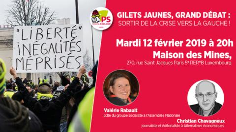 5e | Gilets jaunes, grand débat : sortir de la crise vers la Gauche !