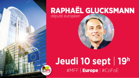 C° Europe – Discussion avec Raphaël Glucksmann