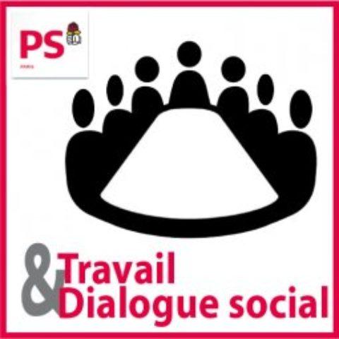 Audition pour la C° Travail – Dialogue social