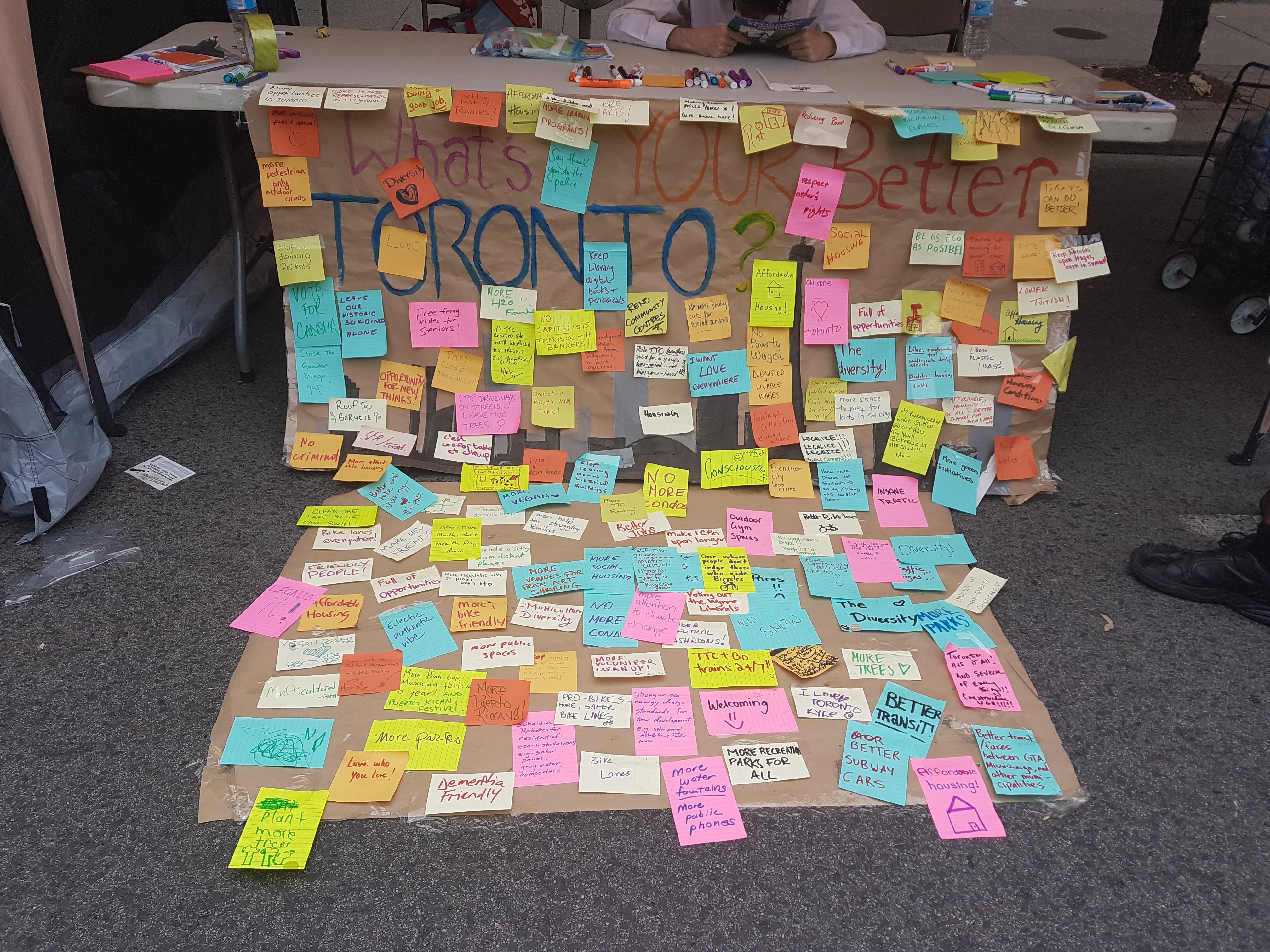 Community Vision for Toronto