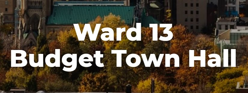 ward 13 budget town hall