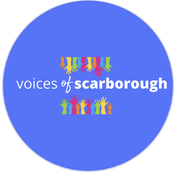 Voices of Scarborough logo