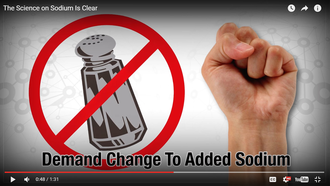 AHA President Says: The Science is Clear on Sodium Reduction