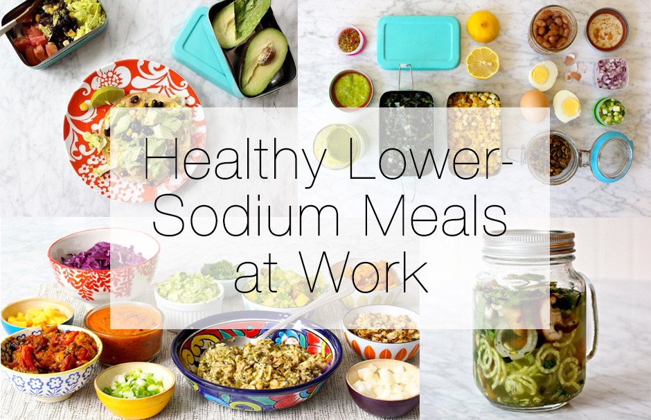 Sodium Girl helps make healthy meals at work