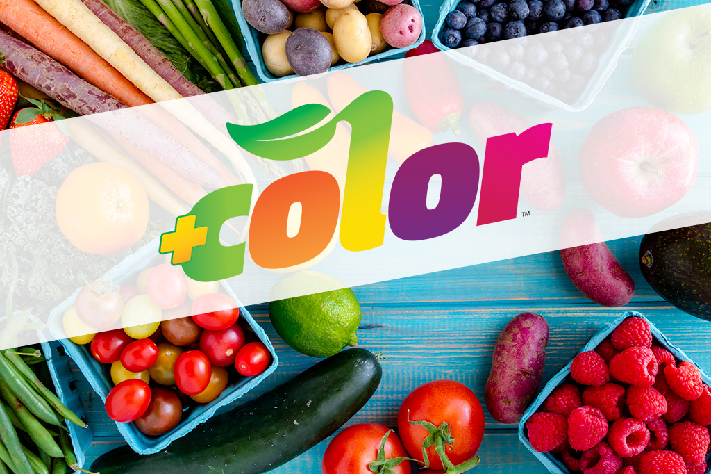 Just add color to eat more fruits and vegetables