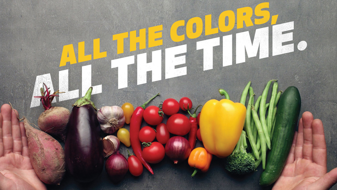 Add Color this Nutrition Month