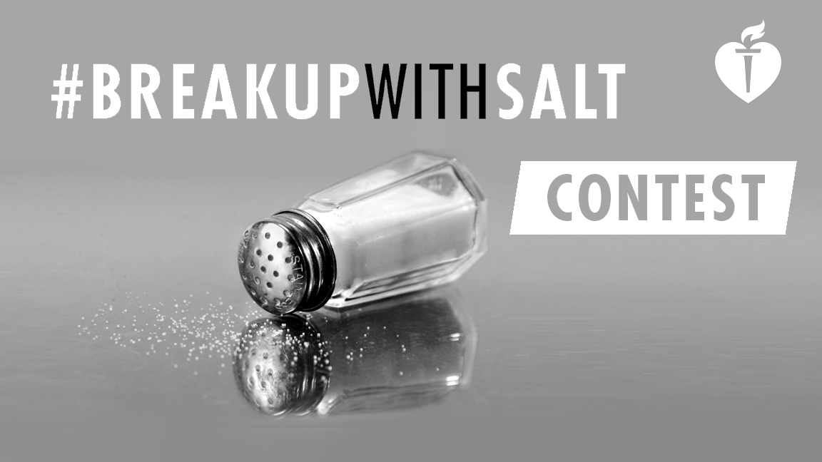 Enter the #BreakUpWithSalt Contest