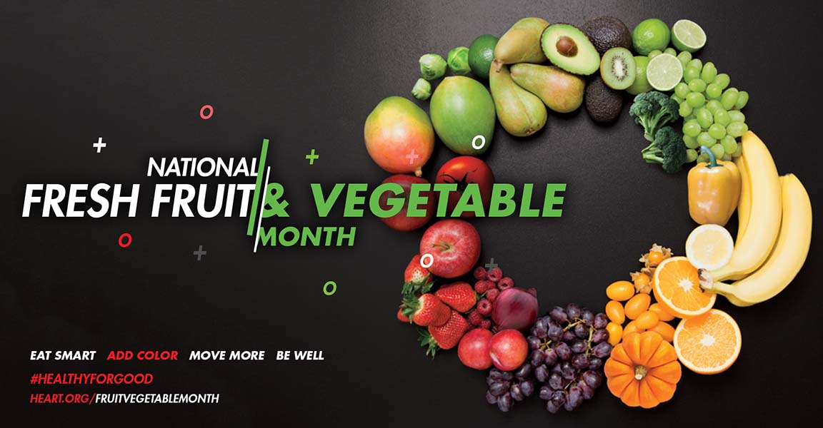 Eat Less Sodium by Eating More Fruits and Vegetables