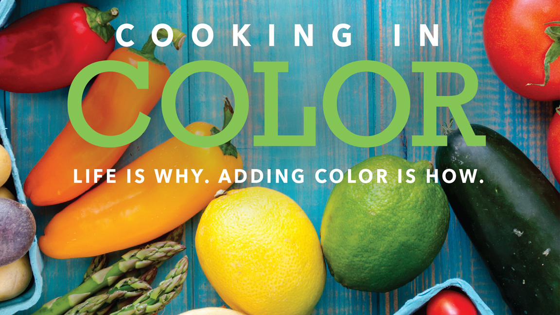 Colorful Cooking to Lower Sodium