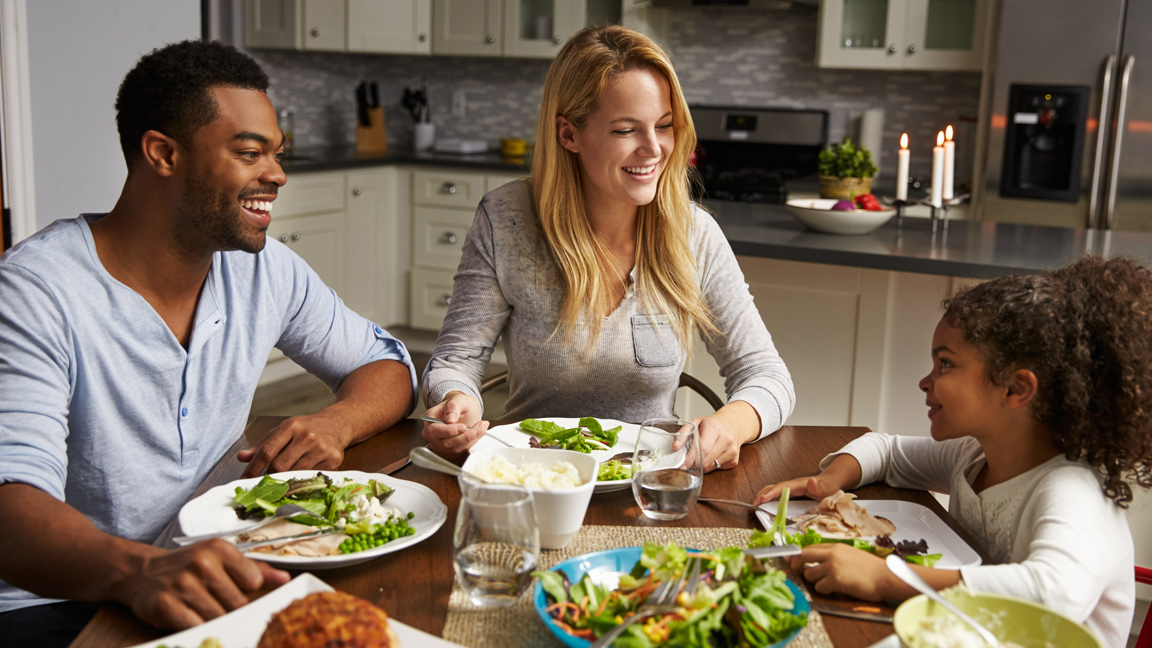 Participate in National Family Meals Month this Month