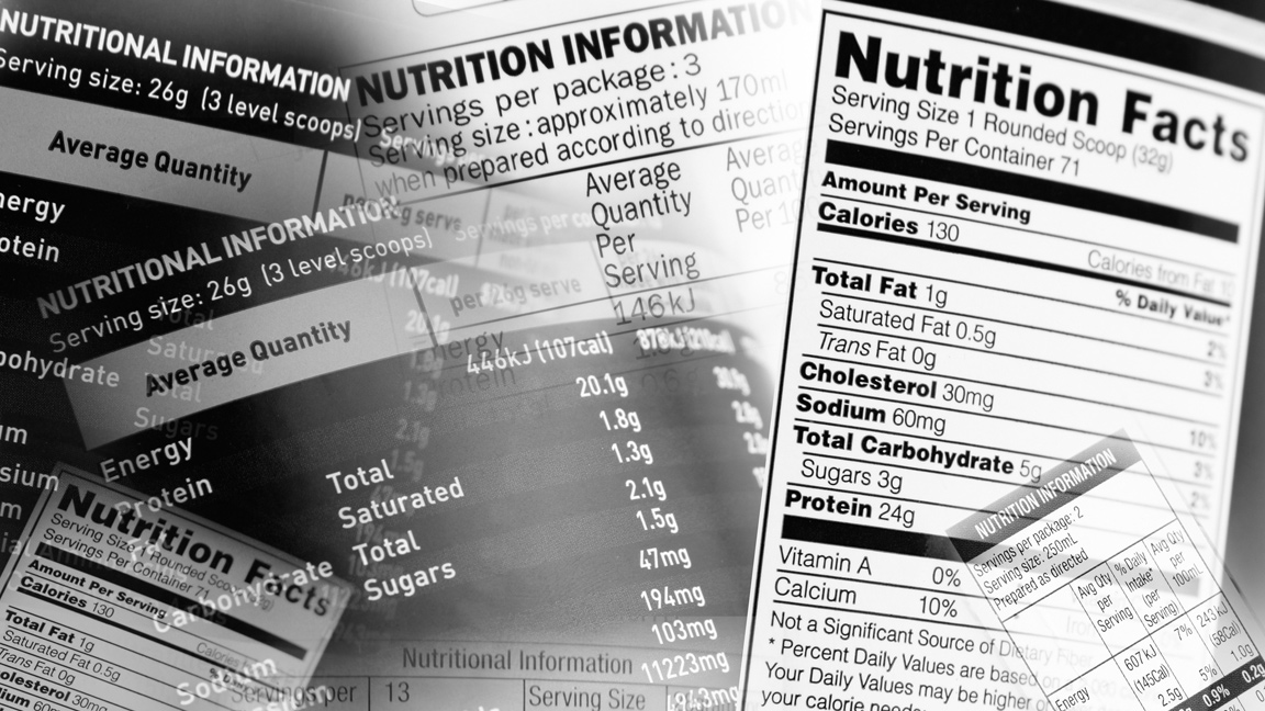 FDA Proposal Would Delay Nutrition Label Makeover