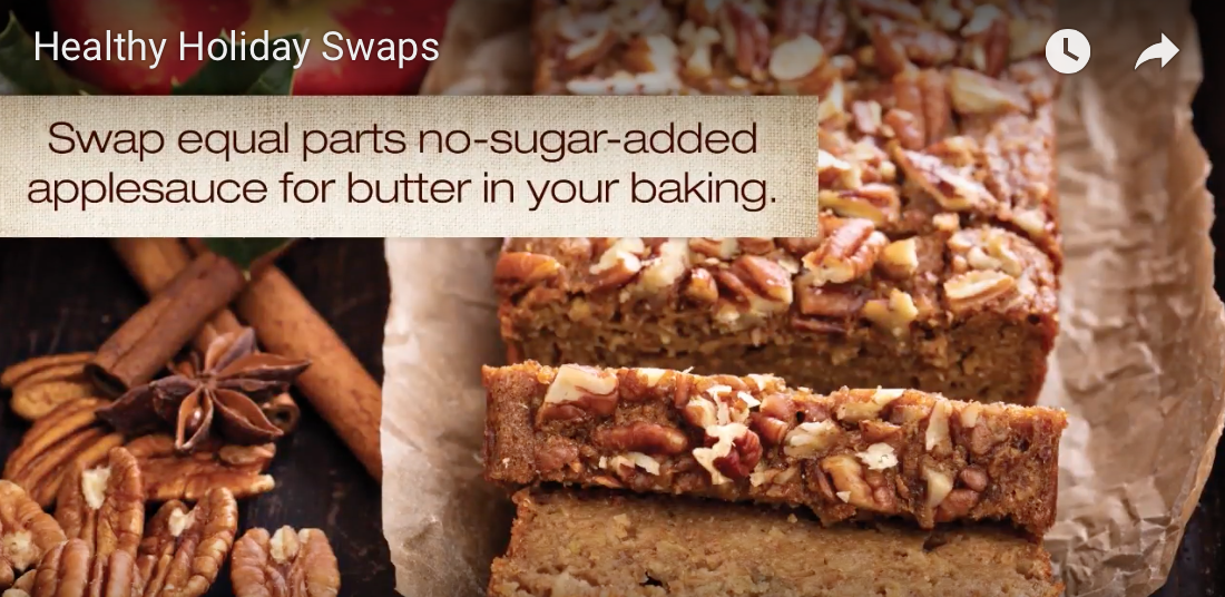 Five Simple Healthy Holiday Swaps