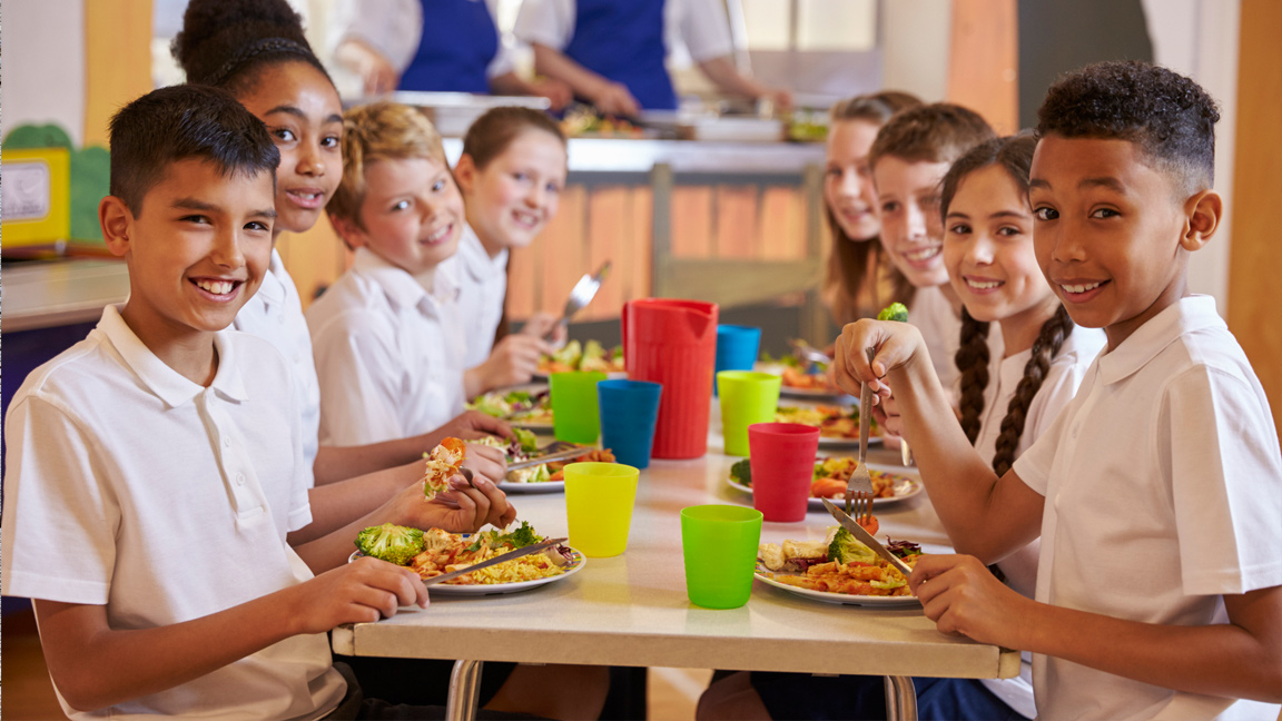 Is healthy eating a new year's resolution for USDA and school foods?