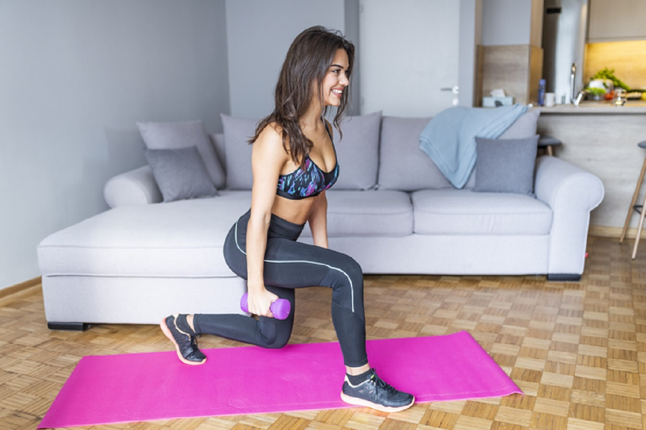 5 Full Body At-Home Exercises with Household Items
