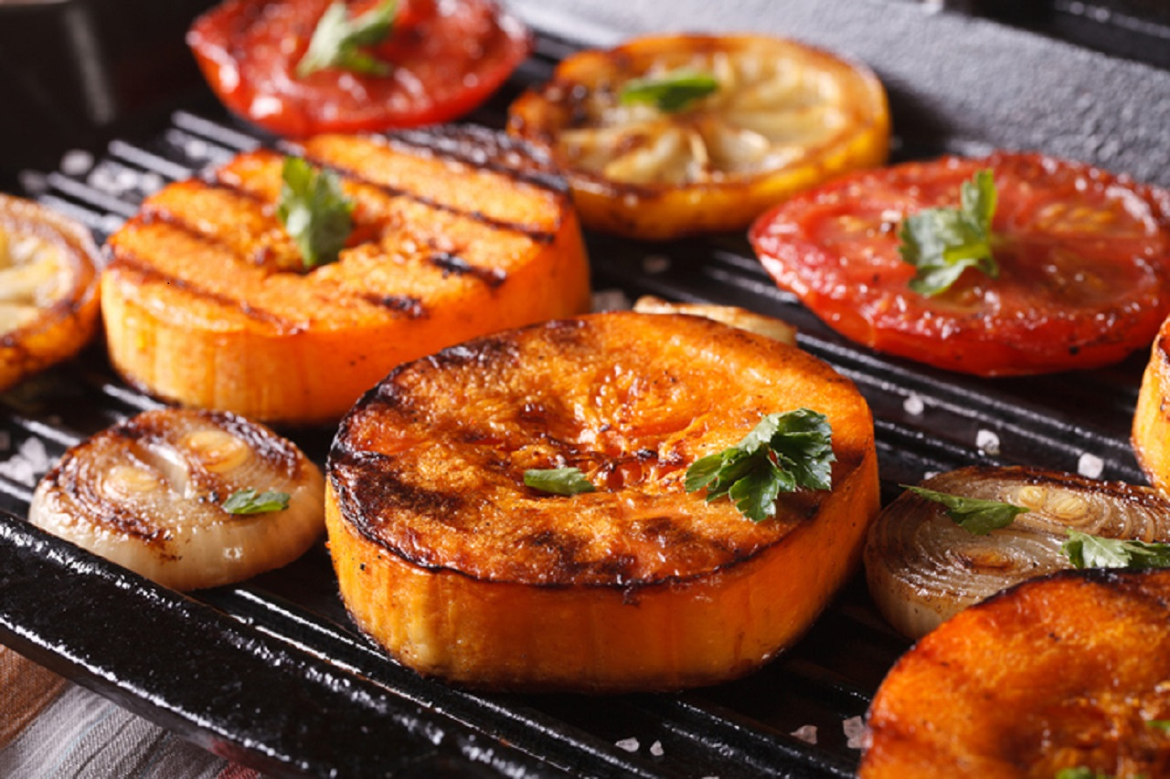 Grilled fruits and veggies? Check out this hot trend