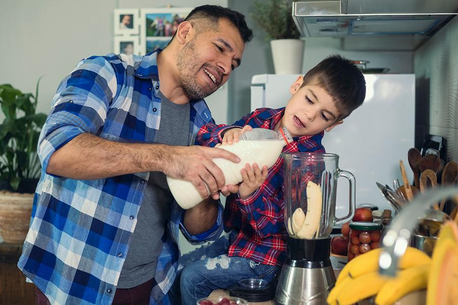 Start kids' school day with a healthy breakfast