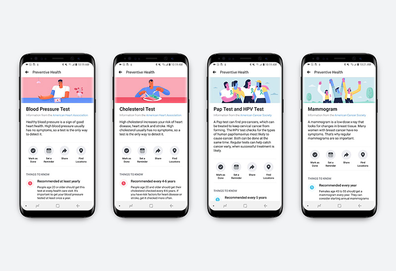 Facebook launches preventive health tool with AHA support