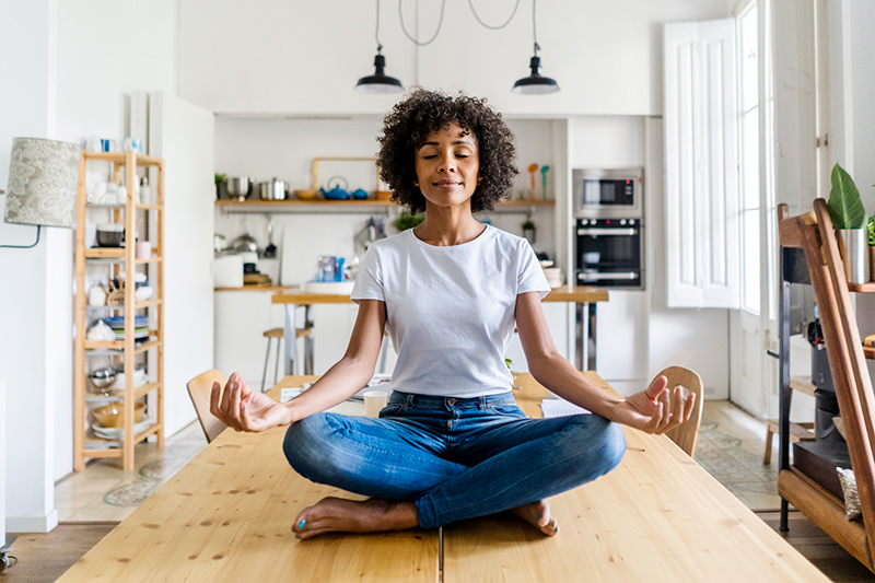 How to Instill Inner Peace While Staying at Home