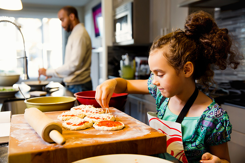 Get Kids in the Kitchen: Tips for Any Age