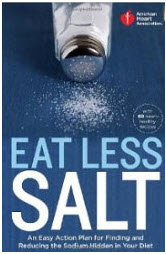 Eat Less Salt Cookbook Cover