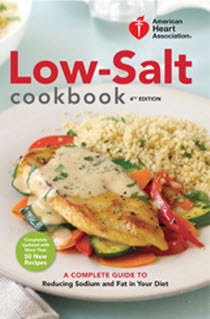 Low-Salt 4th Edition Cookbook Cover