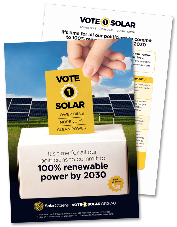 Vote 1 Solar Election Kit