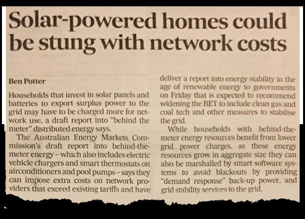Stop the solar swindle