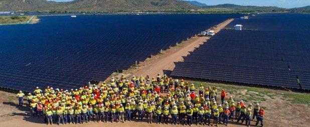 Sun Metals' Solar Farm