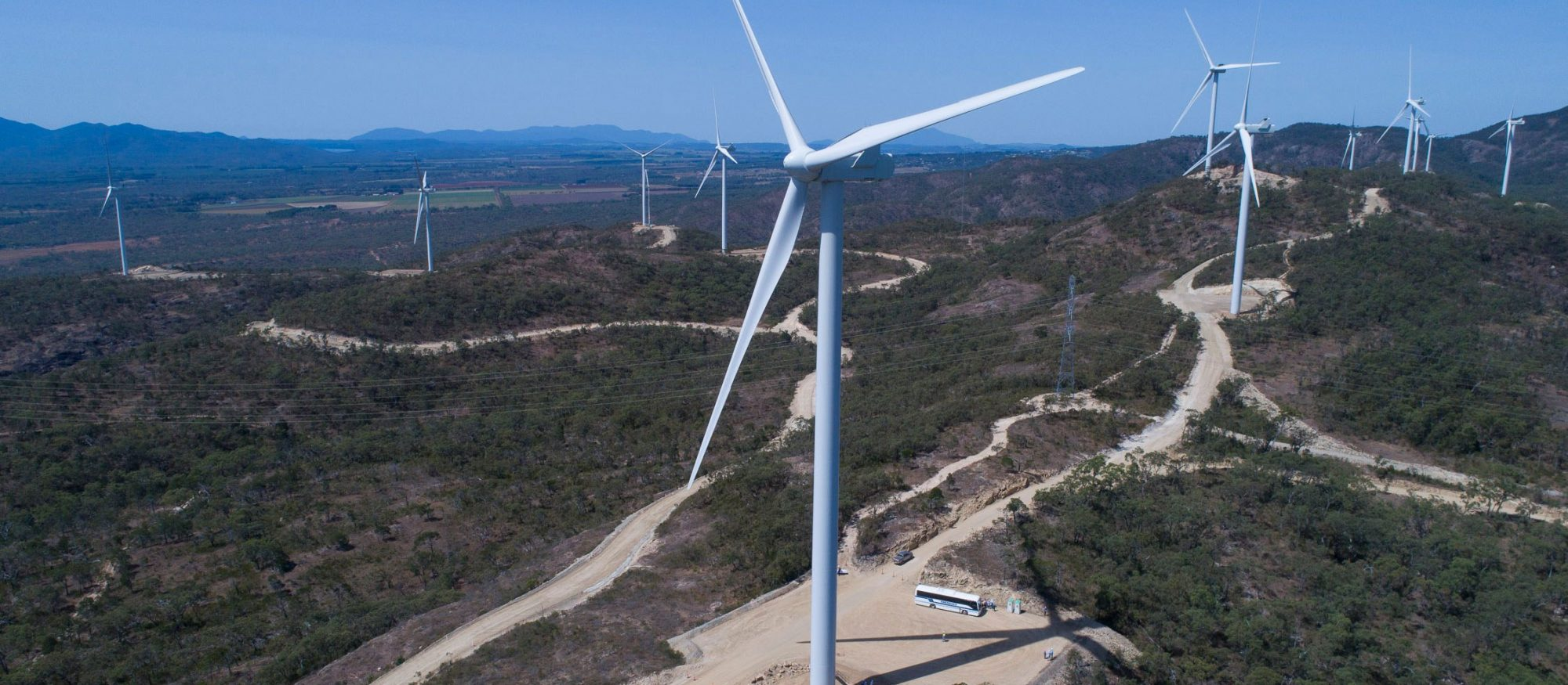 Emerald Wind Farm, image courtesy of RATCH