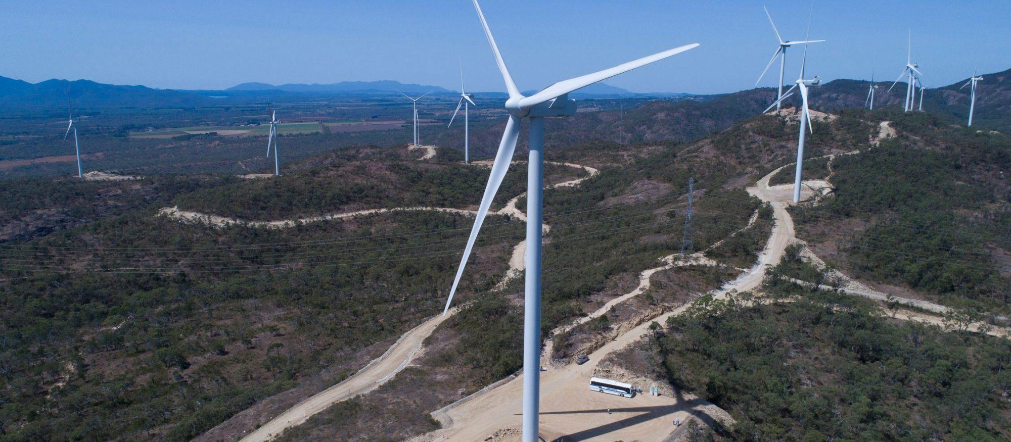 Emerald Wind Farm, image courtesy of RATCH