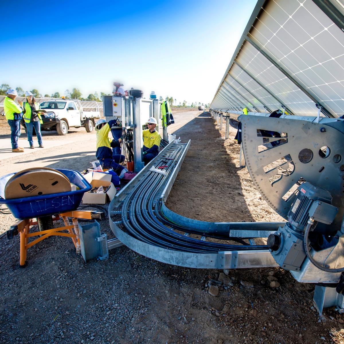 Townsville's Ross River solar farm