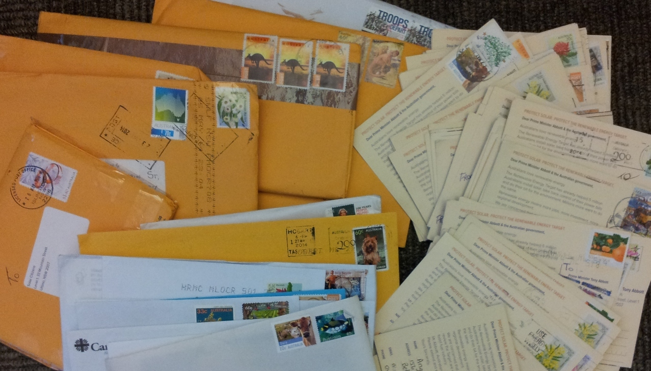 Thousands of postcards have flooded in!