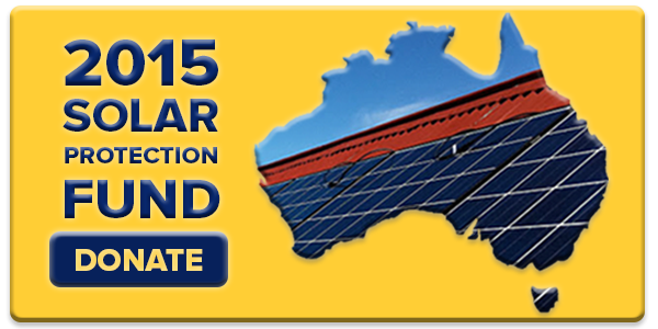 Donate to 2015 Solar Protection Fund