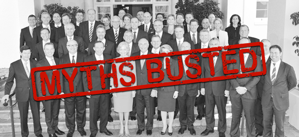 Coalition myths busted