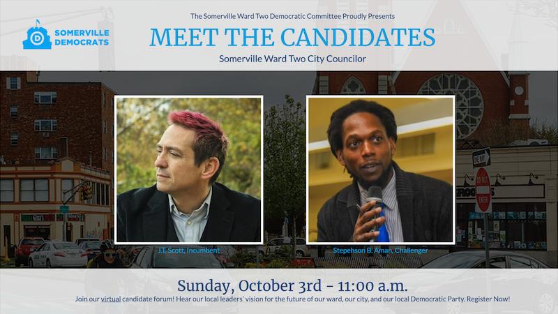 Somerville Ward 2 Candidate Forum 2021