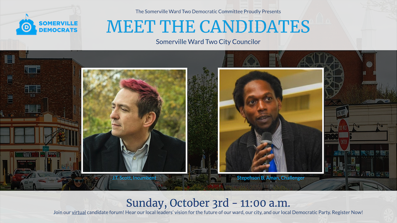 Somerville Ward 2 Candidate Forum