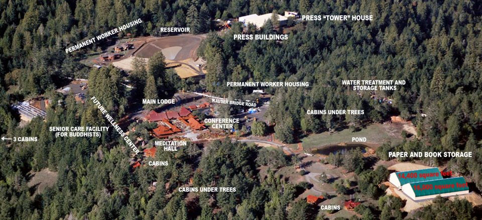 Industrial Park or rural retreat center?