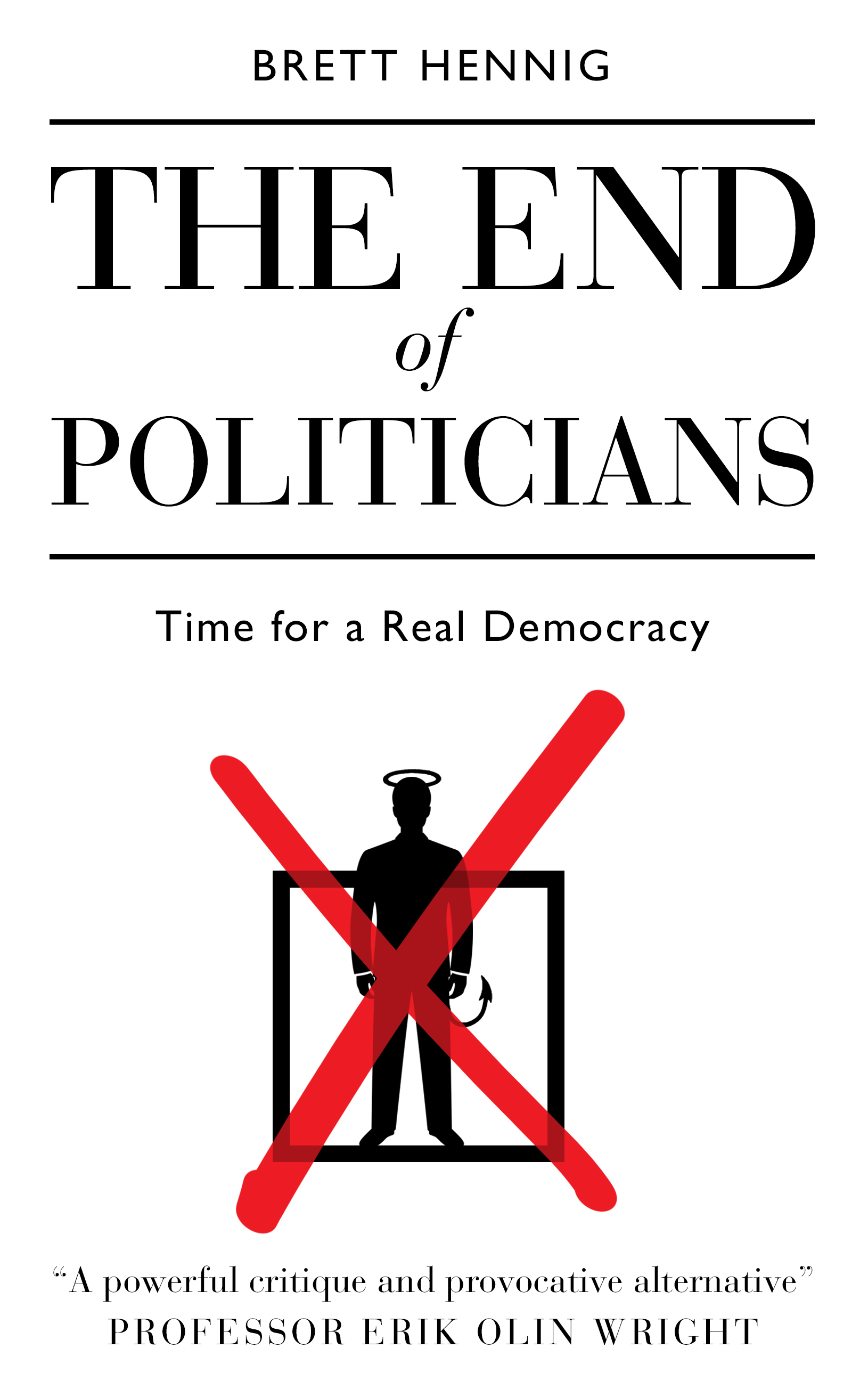 The End of Politicians - Cover
