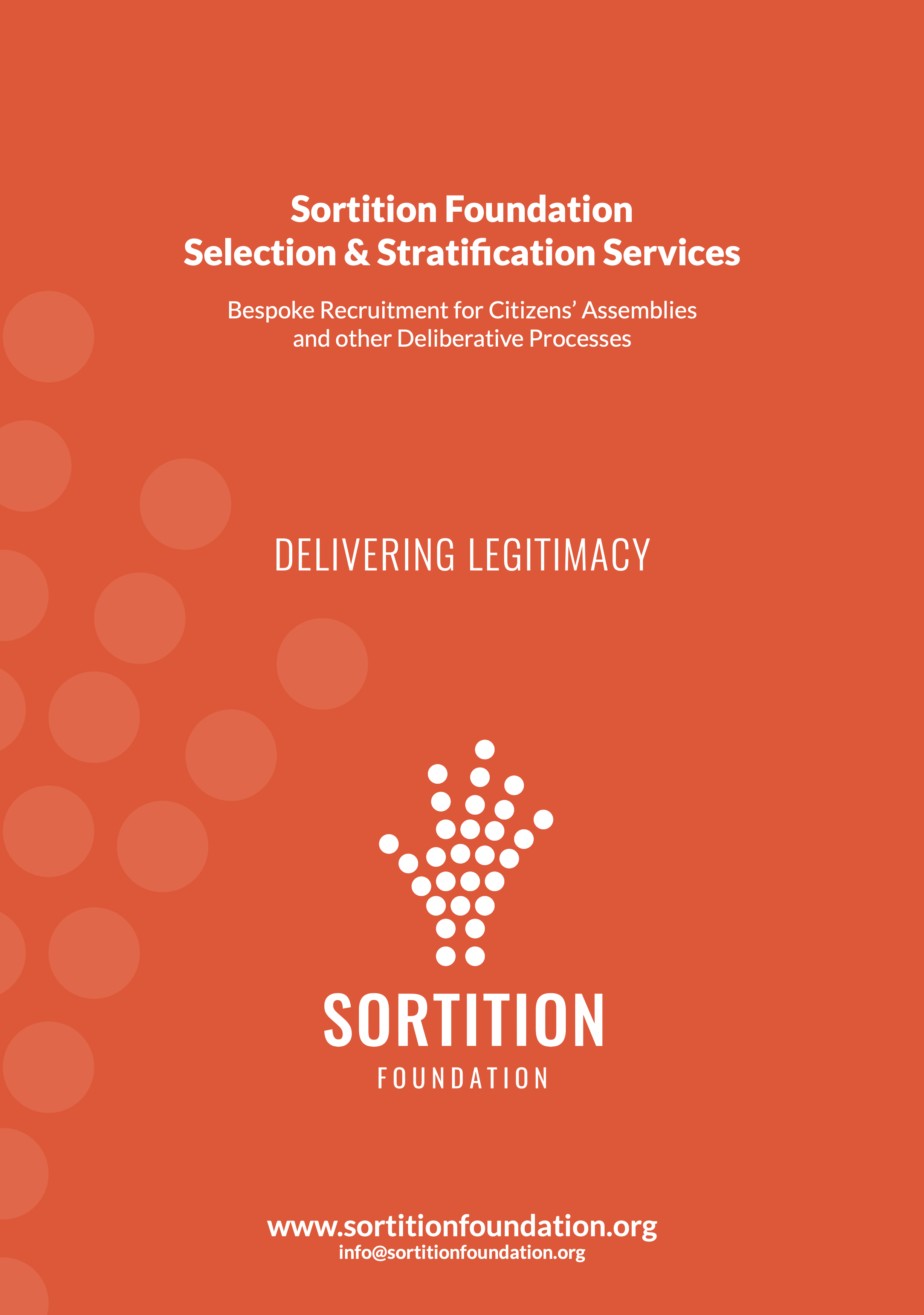 Selection and Stratification Services