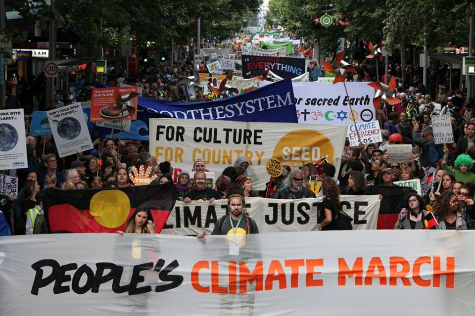 Climate Rally, Credit: flickr user: foei