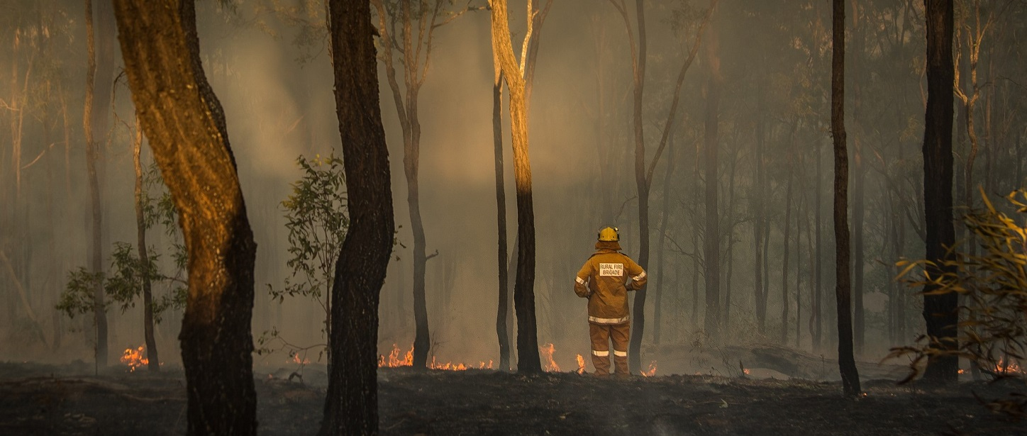 Bushfires are getting worse and our fireys are under resourced and overworked. |