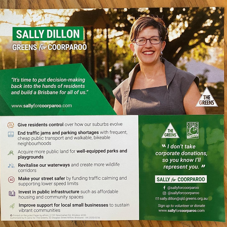 Sally Dillon Flyer