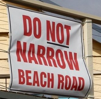 do_not_narrow_beach_rd.jpg
