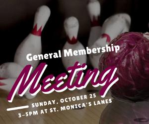 2015 General Membership Meeting