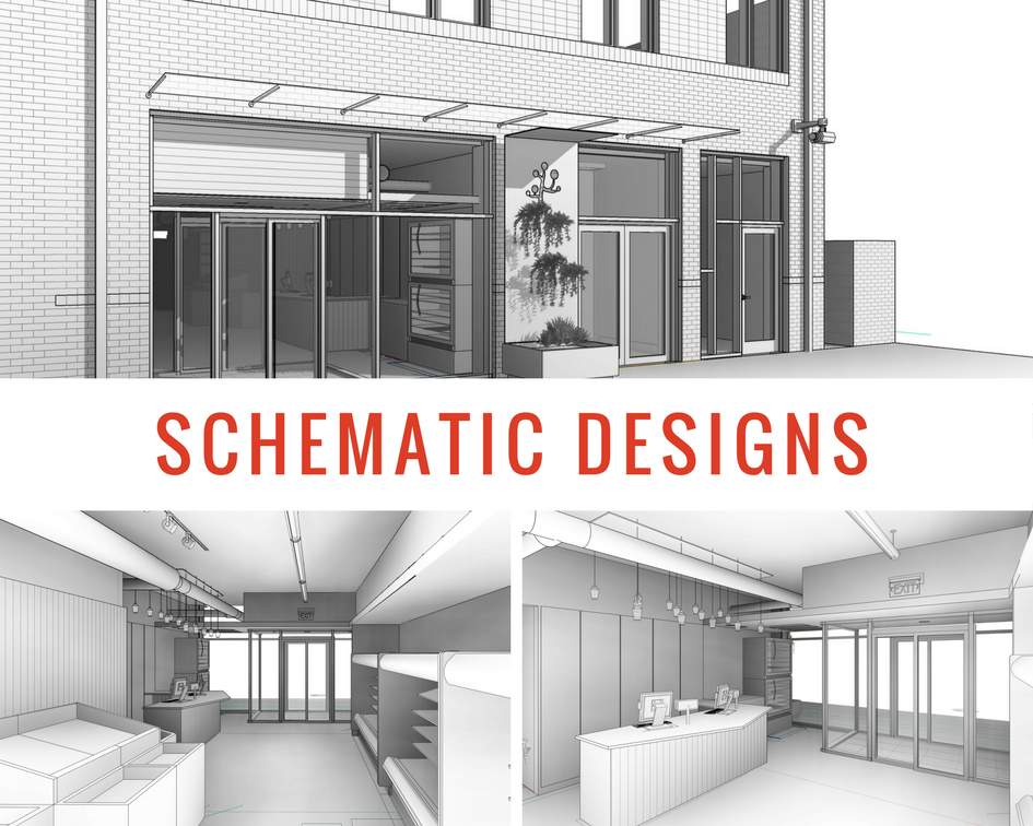 Schematic Design Collage