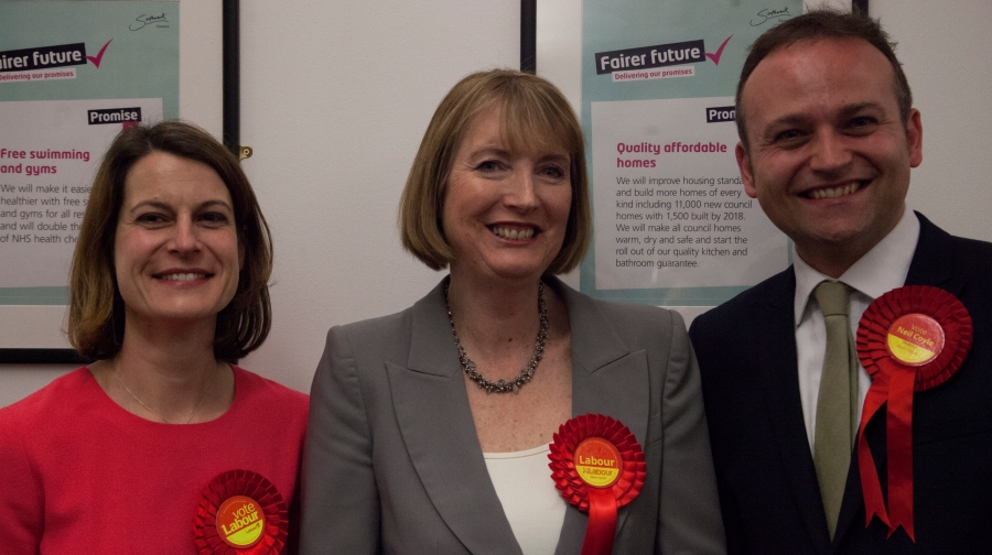 Helen-Hayes-Harriet-Harman-Neil-Coyle-Labour-election.jpg