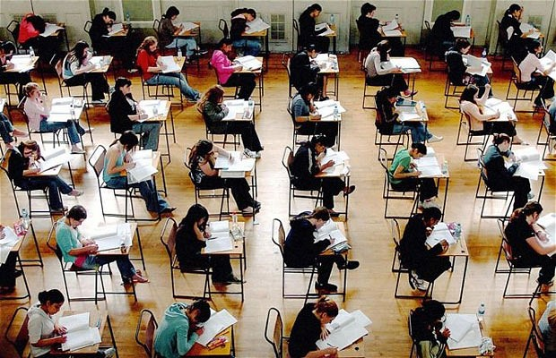 More and more school tests, more and more stress on pupils and teachers alike