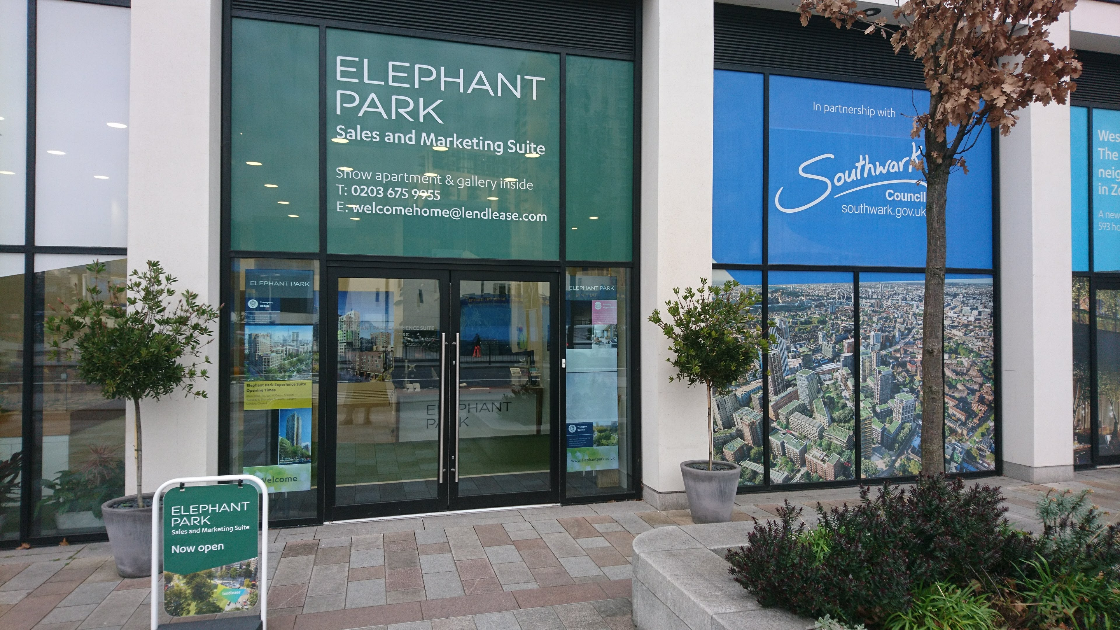 Elephant Park showroom